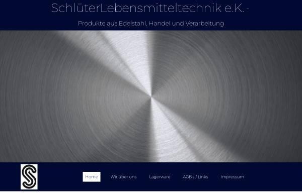 Vorschau von www.lemitech.de, Schlüter Lebensmitteltechnik GmbH