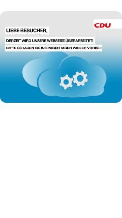 Vorschau der mobilen Webseite www.cdu-uslar.de, CDU Uslar