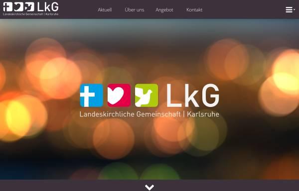 Vorschau von www.lkg-karlsruhe.de, LKG und EC Karlsruhe