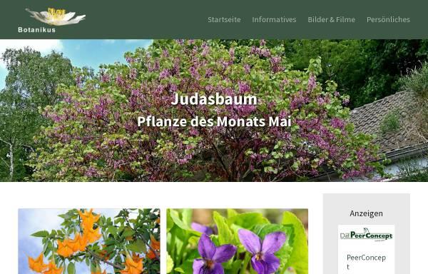 Vorschau von www.botanikus.de, Botanikus
