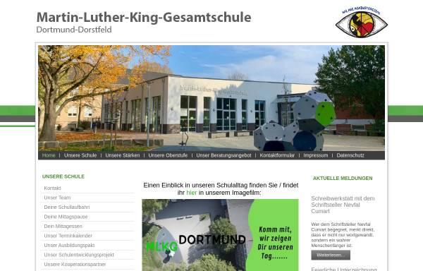 Vorschau von www.mlkgdortmund.de, Martin Luther King Gesamtschule