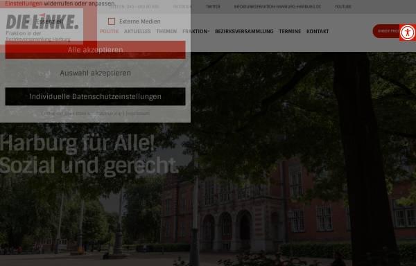 Vorschau von www.linksfraktion-hamburg-harburg.de, Die Linke Harburg