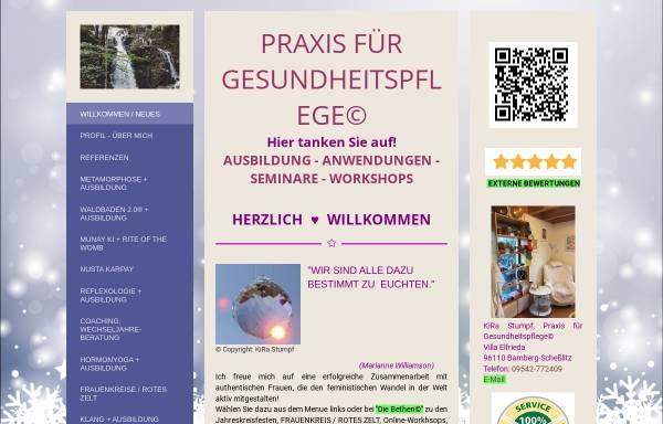 Vorschau von www.nurentspannen.de, Praxis für Gesundheitspflege©, KiRa Stumpf