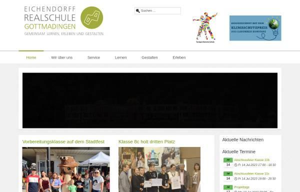 Vorschau von www.rs-gottm.kn.bw.schule.de, Eichendorff-Realschule