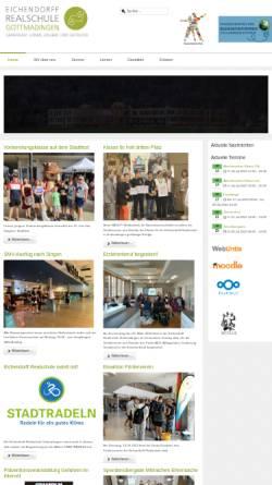 Vorschau der mobilen Webseite www.rs-gottm.kn.bw.schule.de, Eichendorff-Realschule