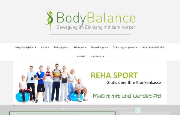 Vorschau von www.bodybalance-duisburg.de, BodyBalance