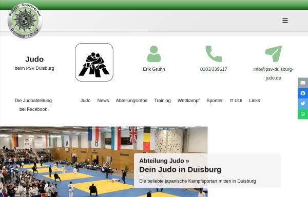 Vorschau von psv-duisburg.de, PSV-Duisburg-Judo