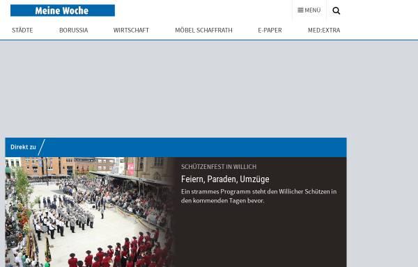 Vorschau von www.willicher-nachrichten.de, Willicher Nachrichten