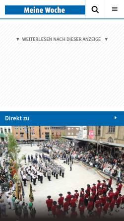 Vorschau der mobilen Webseite www.willicher-nachrichten.de, Willicher Nachrichten