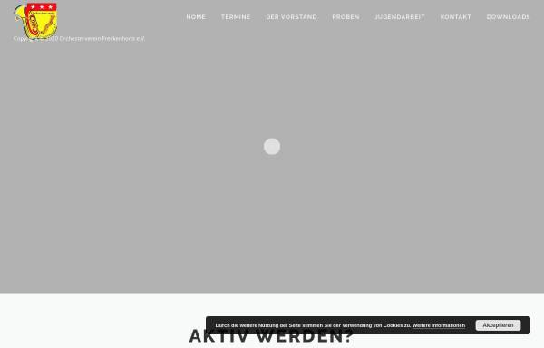 Vorschau von www.orchesterverein-freckenhorst.de, Orchesterverein Freckenhorst e.V.