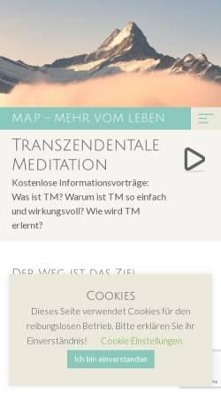 Vorschau der mobilen Webseite www.maprutz.ch, TM-Center Zürichsee