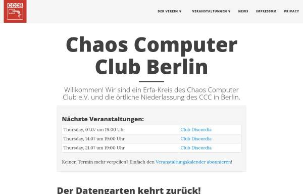 Vorschau von berlin.ccc.de, Chaos Computer Club Berlin e.V. (CCCB)