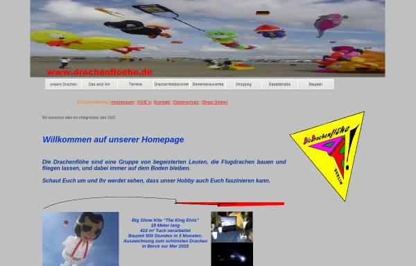 Vorschau von www.die-drachenfloehe.de, Drachenflöhe