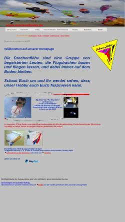 Vorschau der mobilen Webseite www.die-drachenfloehe.de, Drachenflöhe