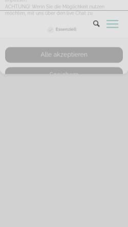 Vorschau der mobilen Webseite www.kgv-schlachtensee-sued.de, Kleingartenverein Schlachtensee-Süd e.V.