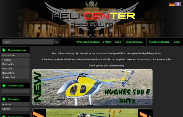 Vorschau von www.heli-center-berlin.de, Modellhubschrauber & Modellbau Patrick Magnus