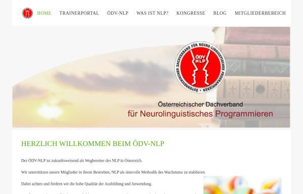 Vorschau von www.oedv-nlp.at, Österreichischer Dachverband für NLP