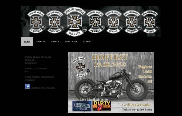Vorschau von www.rolling-wheels.de, Rolling Wheels MC Berlin