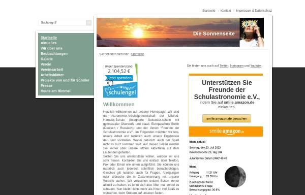 Vorschau von www.diesonnenseite.de, Die Sonnenseite