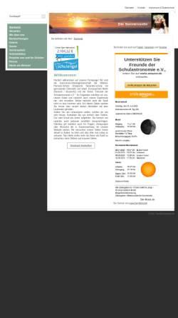 Vorschau der mobilen Webseite www.diesonnenseite.de, Die Sonnenseite