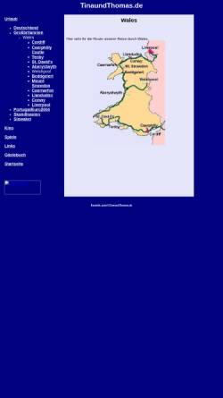 Vorschau der mobilen Webseite www.tinaundthomas.de, Reise durch Wales [Thomas Scheibel & Tina Kopp]