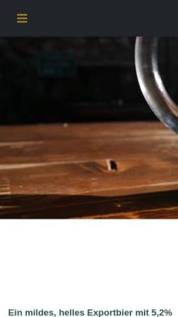 Vorschau der mobilen Webseite www.gans.de, Goldene Gans