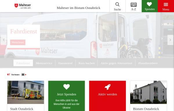 Vorschau von www.sgs.malteser-osnabrueck.de, Malteser Hilfsdienst e.V., Stadtgeschäftstelle Osnabrück