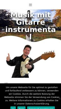 Vorschau der mobilen Webseite www.jackdemare.de, Jack Demare