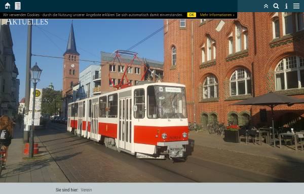 Vorschau von www.dvn-berlin.de, Denkmalpflege-Verein Nahverkehr Berlin e.V.