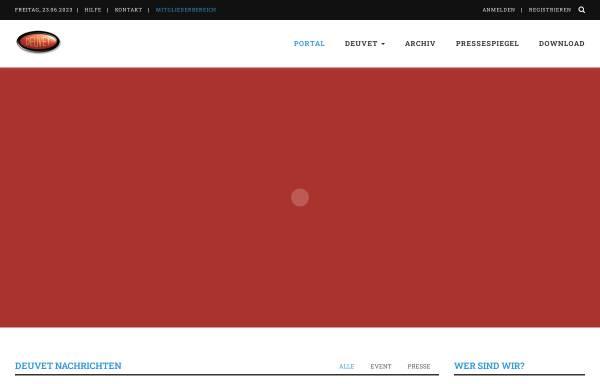 Vorschau von www.deuvet.de, DEUVET-Bundesverband Deutscher Motorveteranen-Clubs e.V.