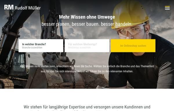 Vorschau von www.rudolf-mueller.de, Markt in Grün