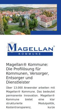 Vorschau der mobilen Webseite geoinform.de, Geoinform AG