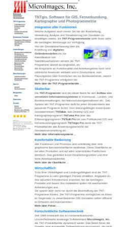 Vorschau der mobilen Webseite www.microimages.de, MicroImages, Inc.