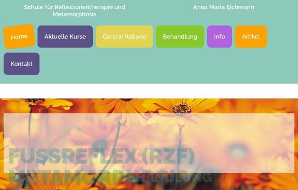 Vorschau von fussreflex-rzf.ch, Eichmann, Anna Maria - Reflexzonentherapie