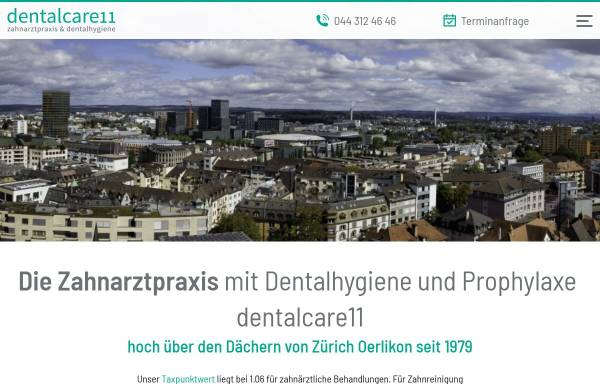 Vorschau von www.bachmann-dent.ch, Zahnarzt Dr. med. dent André Bachmann
