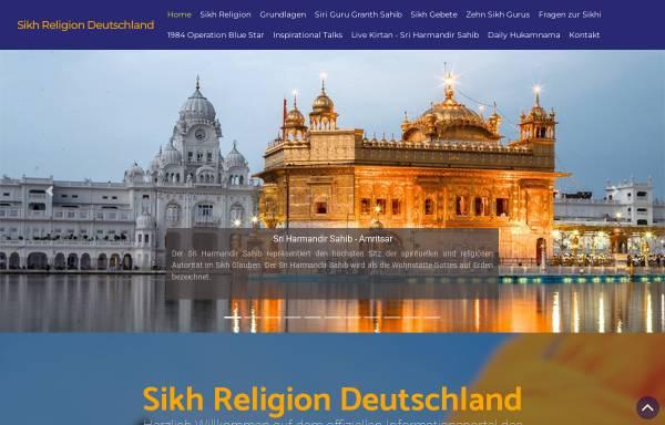 Vorschau von www.sikh-religion.de, Sikh-Forum Deutschland