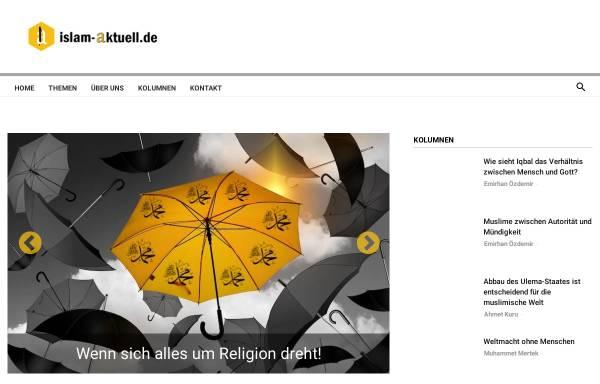 Vorschau von www.islam-aktuell.de, INID e.V. - Institut für Information über Islam und Dialog