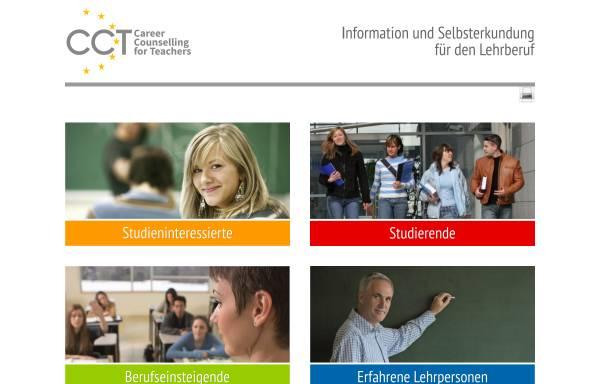 Vorschau von www.cct-germany.de, CCT-Laufbahnberatung für Lehrerinnen und Lehrer