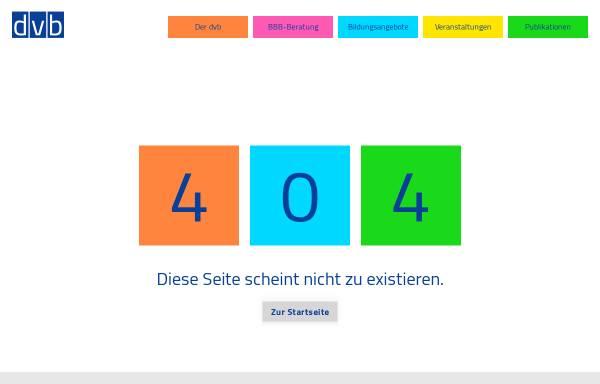 Vorschau von www.dvb-fachverband.de, dvb-fachverband