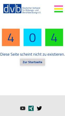 Vorschau der mobilen Webseite www.dvb-fachverband.de, dvb-fachverband