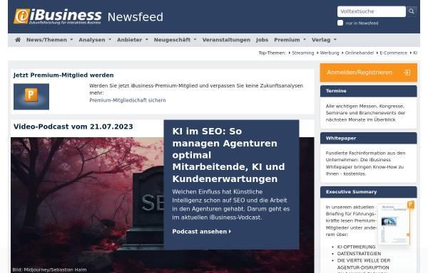 Vorschau von www.ibusiness.de, Der Kiosksystem Markt aktuell