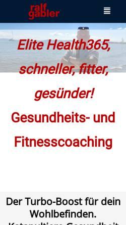Vorschau der mobilen Webseite ralfgabler.de, Gabler, Ralf