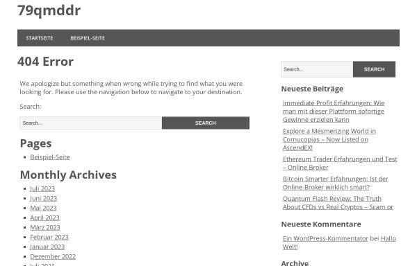 Vorschau von www.79qmddr.de, 79qmDDR