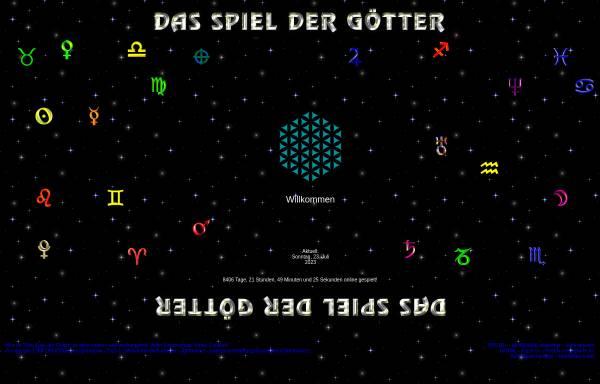 Vorschau von www.spieldergoetter.de, Das Spiel der Götter