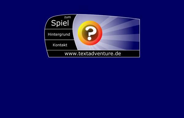 Vorschau von www.textadventure.de, Textadventure