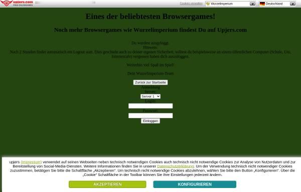 Vorschau von www.wurzelimperium.de, Wurzelimperium
