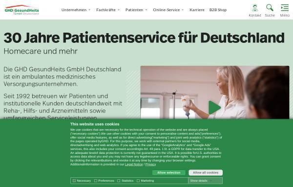 Vorschau von www.homecare.de, Homecare
