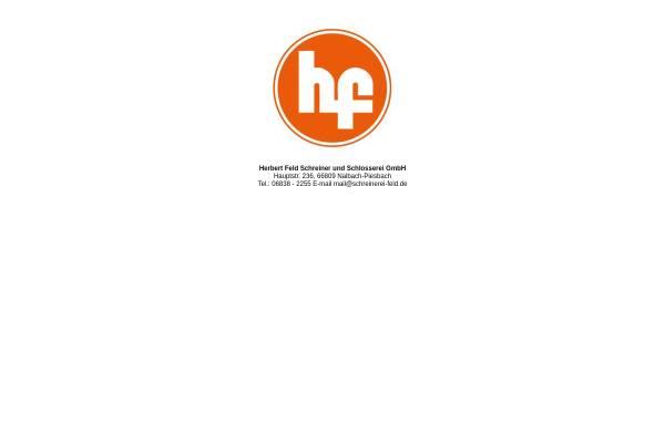 Vorschau von www.schreinerei-feld.de, Herbert Feld GmbH