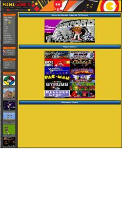 Vorschau der mobilen Webseite www.minigames.de, Minigames.de