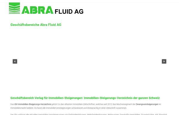 Vorschau von www.abra-fluid.ch, ABRA Fluid AG